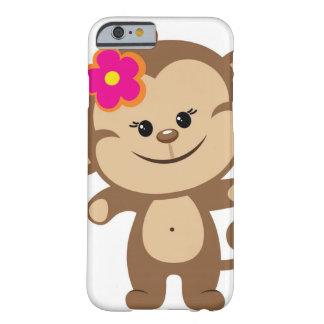 Caja del teléfono del caso del iPhone 6 del mono Funda Para iPhone 6 Barely There