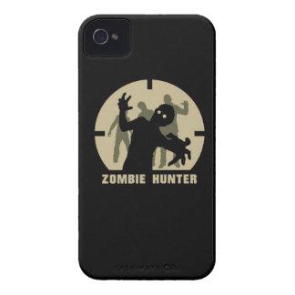 caja del teléfono del cazador del zombi iPhone 4 cárcasa