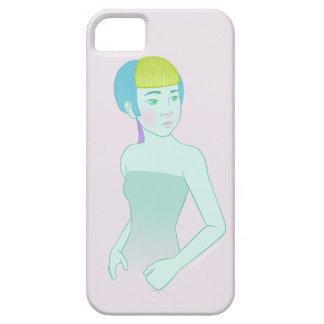 Caja del teléfono del chica del acuario iPhone 5 funda