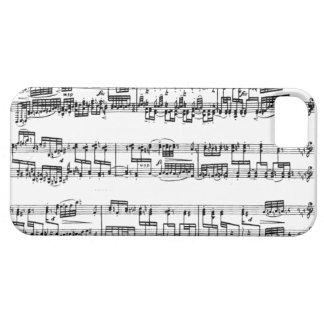 Caja del teléfono del concierto del piano iPhone 5 cobertura