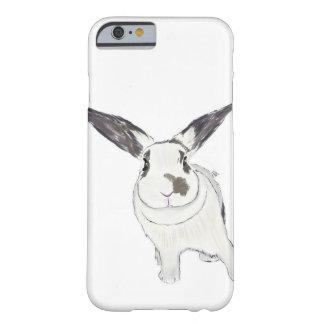 Caja del teléfono del conejito del conejo, ejemplo funda para iPhone 6 barely there