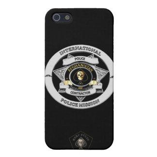 Caja del teléfono del contratista de la policía de iPhone 5 carcasas