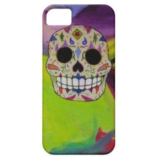 caja del teléfono del cráneo del azúcar iPhone 5 protector