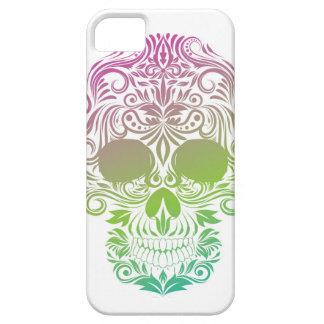 Caja del teléfono del cráneo del azúcar iPhone 5 carcasas