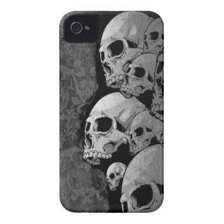 caja del teléfono del cráneo iPhone 4 carcasas