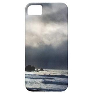 Caja del teléfono del día tempestuoso iPhone 5 cárcasa