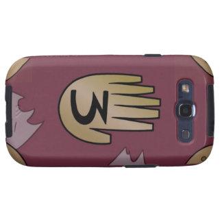 Caja del teléfono del diario #3 de GF para el S3. Samsung Galaxy S3 Carcasa