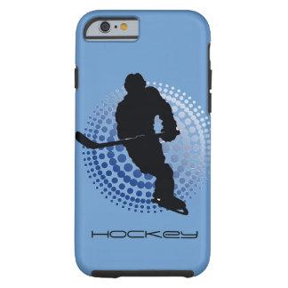 Caja del teléfono del diseño del hockey funda resistente iPhone 6