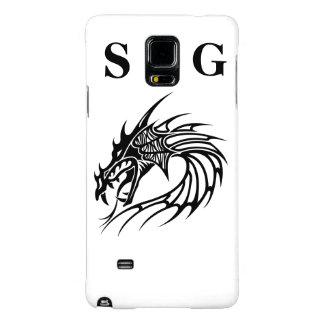 Caja del teléfono del dragón del SG para la nota 4 Funda Galaxy Note 4