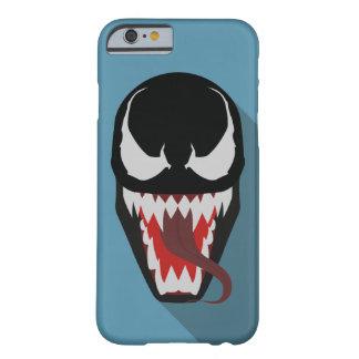 Caja del teléfono del ejemplo del veneno con la funda para iPhone 6 barely there