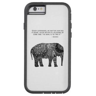 Caja del teléfono del elefante de Buda de la Funda De iPhone 6 Tough Xtreme