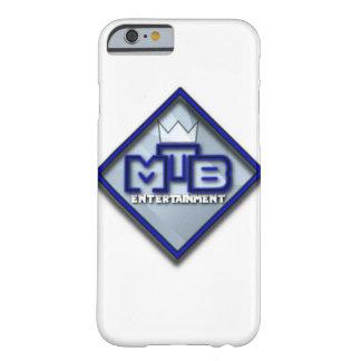 Caja del teléfono del entretenimiento de MtB Funda Barely There iPhone 6