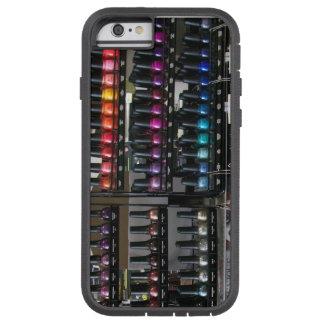 Caja del teléfono del esmalte de uñas funda para  iPhone 6 tough xtreme