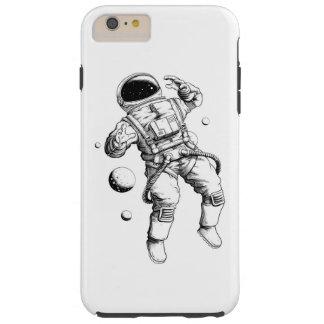 Caja del teléfono del espacio funda resistente iPhone 6 plus