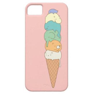 """Caja del teléfono del helado de la """"pila animal"""" funda para iPhone 5 barely there"""