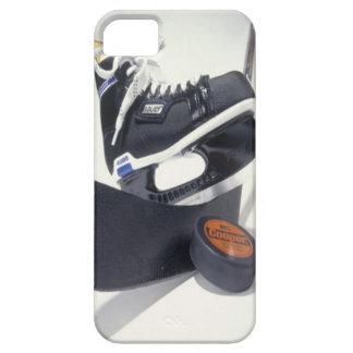 Caja del teléfono del hockey funda para iPhone 5 barely there
