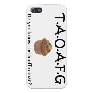 Caja del teléfono del hombre de mollete de TAOAFG iPhone 5 Carcasa