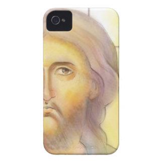 Caja del teléfono del icono de Cristo iPhone 4 Case-Mate Coberturas