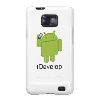 caja del teléfono del iDevelop Samsung Galaxy SII Carcasa