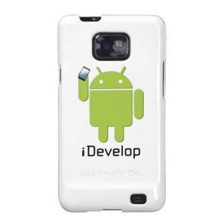 caja del teléfono del iDeveop Samsung Galaxy SII Fundas