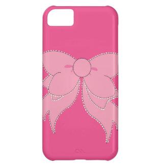 Caja del teléfono del iPhone 5 del arco del rosa d Funda Para iPhone 5C
