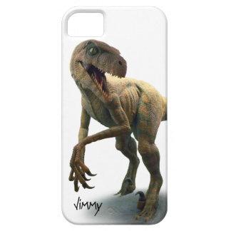 Caja del teléfono del iPhone 5 del Velociraptor Funda Para iPhone 5 Barely There