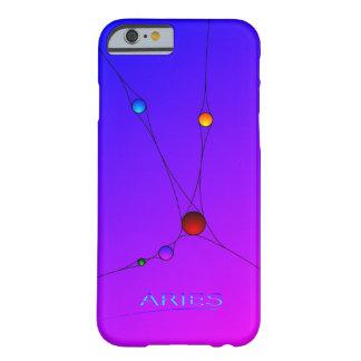 Caja del teléfono del iPhone 6 del aries con el Funda Barely There iPhone 6