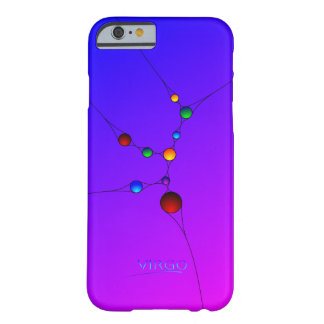 Caja del teléfono del iPhone 6 del virgo con el Funda Barely There iPhone 6