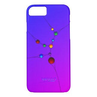 Caja del teléfono del iPhone 6 del virgo con el Funda iPhone 7