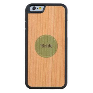 Caja del teléfono del iPhone de la cereza de la Funda De iPhone 6 Bumper Cerezo