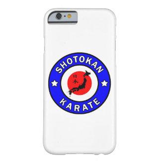 Caja del teléfono del karate de Shotokan Funda De iPhone 6 Barely There