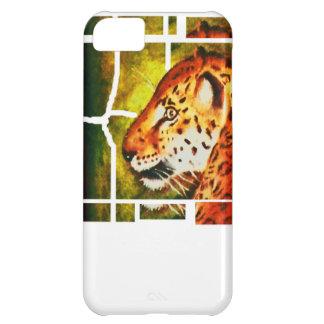 Caja del teléfono del leopardo i