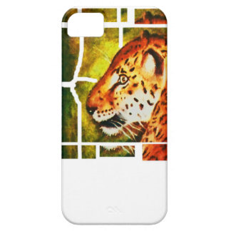 Caja del teléfono del leopardo i iPhone 5 fundas