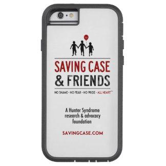 Caja del teléfono del logotipo de ahorro del caso funda para  iPhone 6 tough xtreme