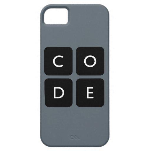 caja del teléfono del logotipo de Code.org iPhone 5 Carcasas
