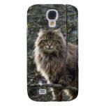 Caja del teléfono del mascota del gato de Coon de