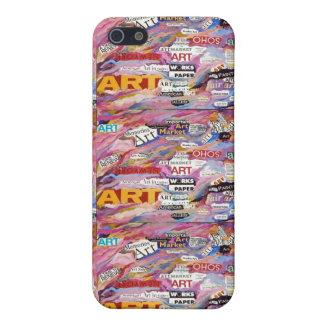Caja del teléfono del mercado del arte iPhone 5 carcasa
