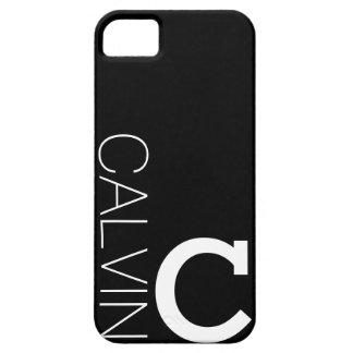 Caja del teléfono del monograma de la MOD iPhone 5 Carcasas
