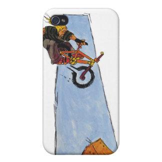 Caja del teléfono del motorista i de BMX iPhone 4/4S Funda