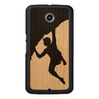 caja del teléfono del nexo 5 de Google del Funda De Nexus 5 Carved® De Cerezo