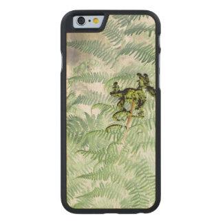 caja del teléfono del nexo 5 de Google del helecho Funda De iPhone 6 Carved® Slim De Arce