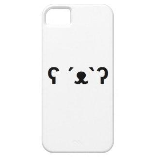 caja del teléfono del oso polar iPhone 5 protectores