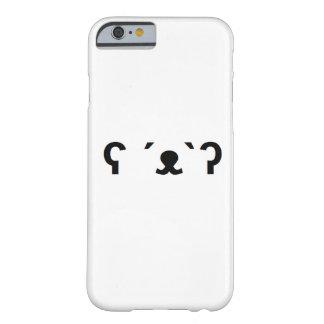 caja del teléfono del oso polar funda de iPhone 6 slim