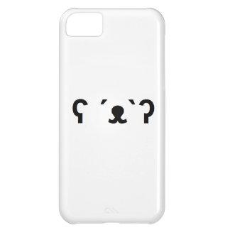 caja del teléfono del oso polar funda para iPhone 5C