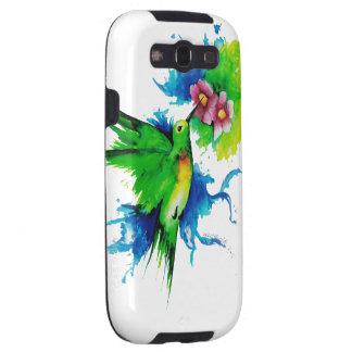 Caja del teléfono del pájaro del tarareo galaxy SIII coberturas