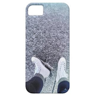 Caja del teléfono del patinaje de hielo funda para iPhone SE/5/5s