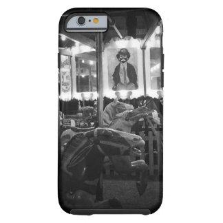 Caja del teléfono del payaso del carrusel funda de iPhone 6 tough