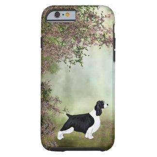 Caja del teléfono del perro de aguas de saltador funda de iPhone 6 tough