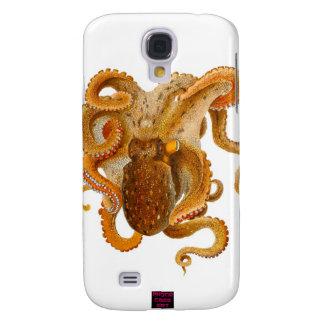 caja del teléfono del pulpo funda para galaxy s4