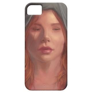 Caja del teléfono del retrato del arte de la funda para iPhone SE/5/5s